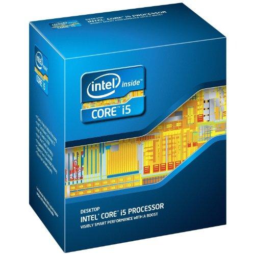Intel Core I5 Processore 2500K 3300 MHz 6 MB Cache LGA1155 Desktop CPU, in scatola