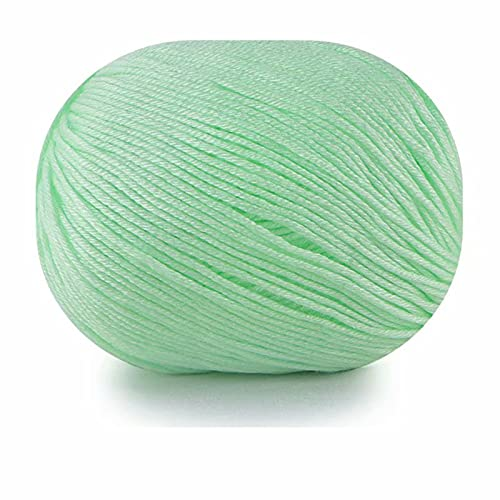 4 rollos de hilo grueso para principiantes, 2 x 50 g de hilo de ganchillo súper suave y esponjoso,...