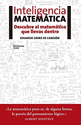 Portada del libro Inteligencia matemática de Eduardo Sáenz de Cabezón
