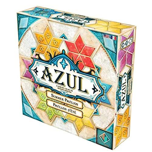 Juego De Mesa Azul Summer Pavilion Tile Story Card Game Multi Colored Tile Story Card Game Juegos De Estrategia para Adultos Juegos De Ocio Party Puzzle Game - 3a Generación