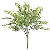 LjzlSxMF Plástico Plantas de Flores, Plantas Artificiales, Artificial arbustos arbustos de Interior al Aire Libre decoración Verde