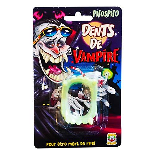 Dentier de vampire - Taille Unique
