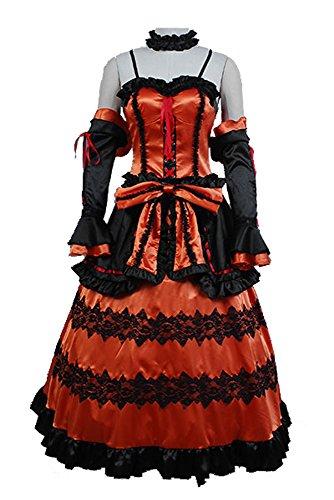 Fuman Date A LIVE Kurumi Tokisaki Astral Dress Cosplay Kostüm XXXL