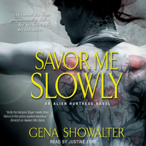 Savor Me Slowly audiobook cover art