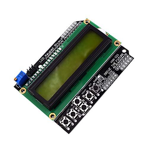 SNOWINSPRING LCD1602 IIC I2C TWI 1602 16X2 Serielles LCD Modul Display LCD Tastatur Schild Board Modul für