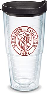Tervis Meredith Avenging Angels Logo Insulated Tumbler with Emblem and Black Lid, 24oz, Clear