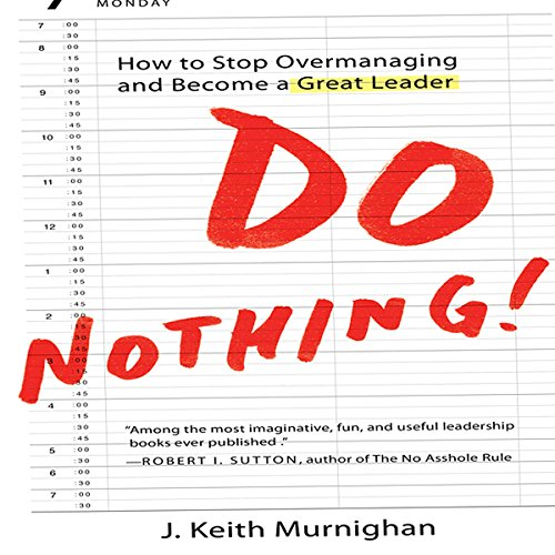 Do Nothing! audiobook cover art