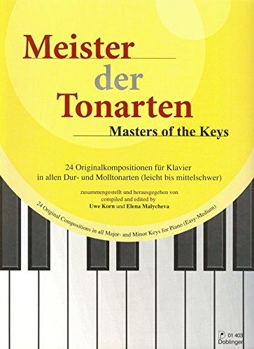 Meister der Tonarten für Klavier