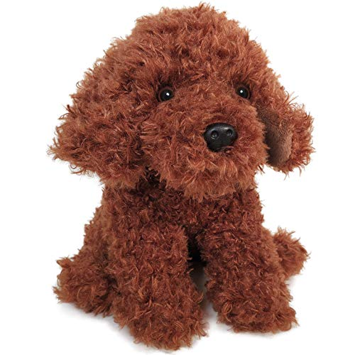 Laurel The Labradoodle - 9 Inch Stuffed Animal Plush Poodle Dog - by Tiger Tale Toys