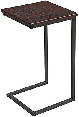 サイドテーブル ブラウン 幅30×奥行30×高さ52cm GST3030-BR