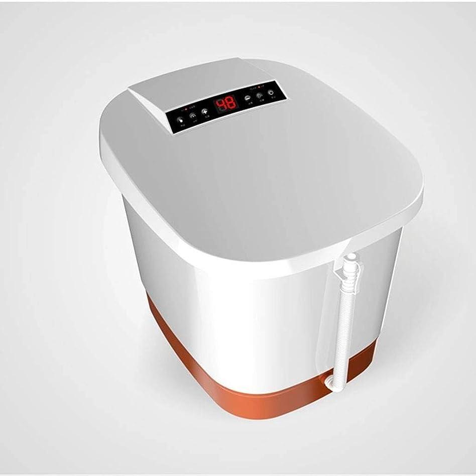 フォーカス明らかに不快なZYPDD ヒーター温度調節付きフットスパ/バスマッサージペディキュアスパリリーフストレス解消睡眠自宅での使用