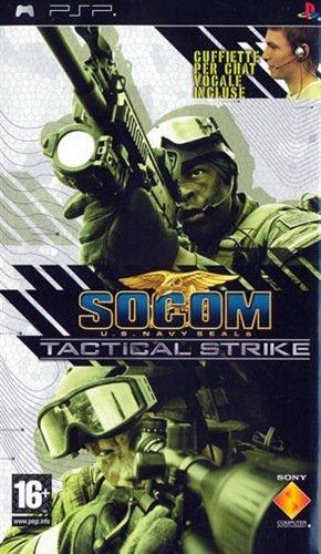 Sony SOCOM: U.S. Navy SEALs Tactical Strike - Bundle, PSP PlayStation Portatile (PSP) Inglese videogioco
