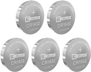 CR1632 リチウムイオン電池 コイン形 ボタン電池 一次電池 充電不可 3V 120mAh EEMB メーカー直販 水銀ゼロシリーズ