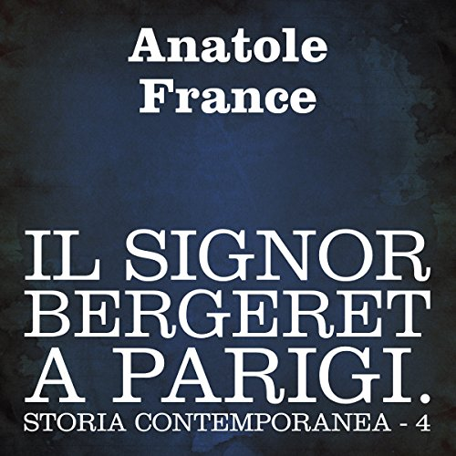 Il signor Bergeret a Parigi [Mr. Bergeret in Paris] cover art