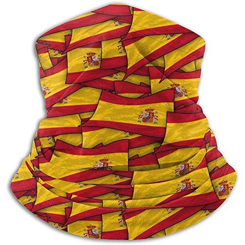 Calentador de Cuello de vellón:Tubo de Polaina con Cuello de Bandera de...