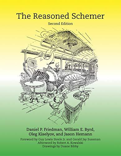 The Reasoned Schemer (MIT Press) (The MIT Press)の詳細を見る