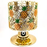 White Barn Candle Holder Compatible with Bath & Body Works 3-Wick Candles - 2021 - Select Your Favorite! (Candle NOT Included) (Pineapple Pedestal)