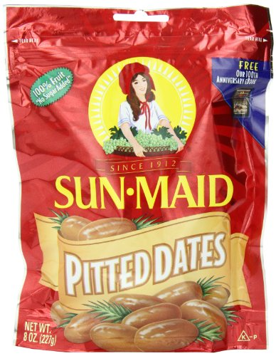 Sun-Maid Pitted Dates, 8-Ounce- (5)