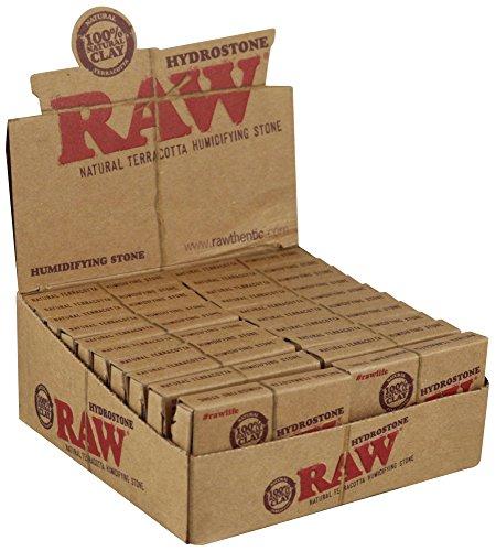 RAW Hydrostone Natural Terracotta Humidifying Stone - 20 Per Box