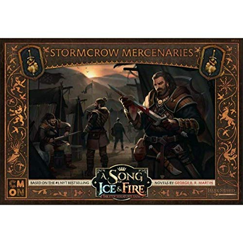 Cool Mini or Not Neutral Stormcrow Mercenaries: A Song of Ice and Fire - English