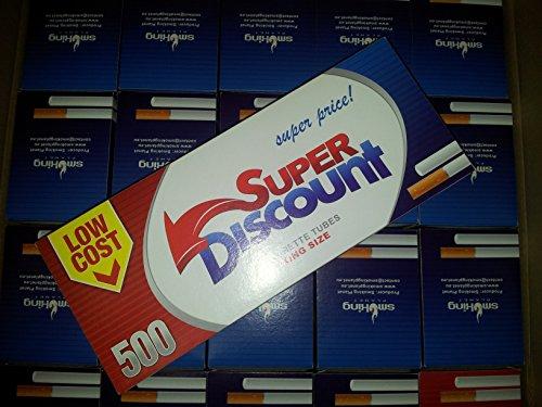 Super discount - Confezione di 6000 sigarette sfuse, confezione King Size
