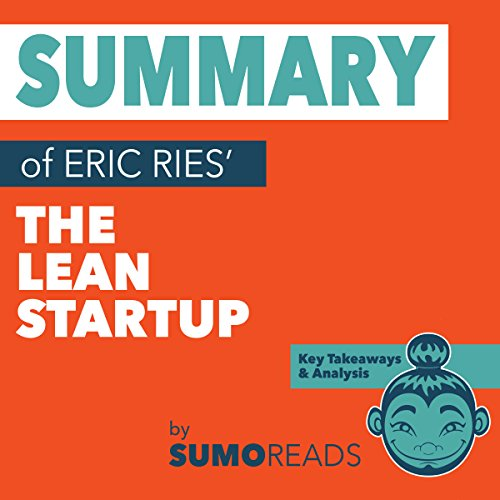 Summary of Eric Ries' The Lean Startup audiobook cover art