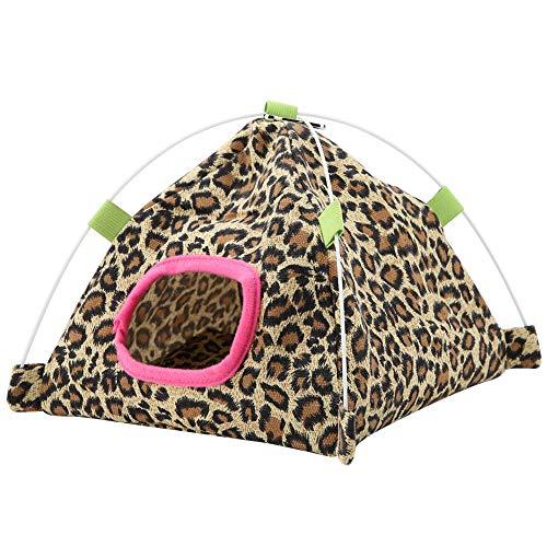 ハンモック オウムのテント オウムの家 吊り下げ式 小屋 マット付き 鸚鵡 鳥 ハムスター ウサギなど小動物用 可愛い