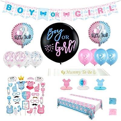 IOKUKI Gender Reveal Party Supplies,Gender Reve...