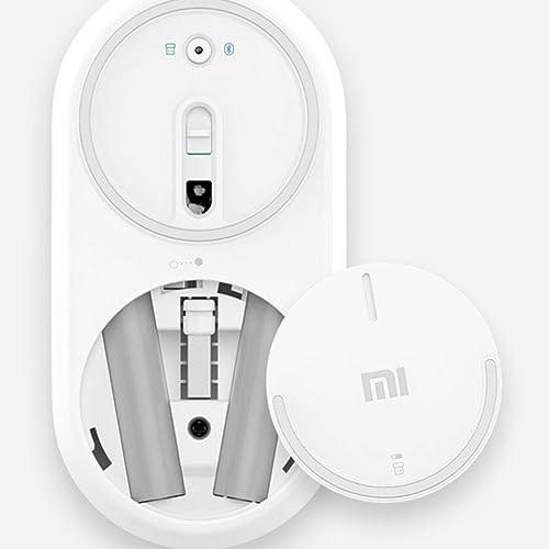 Xiaomi Mi Rantón Inalámbrico Portátil Bluetooth 4.0 Dual Modo Mouse Plata
