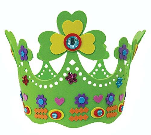 Blancho Chapeau d'anniversaire Nursery Couronne EVA Enfants Main Hat Creative Sun Hat