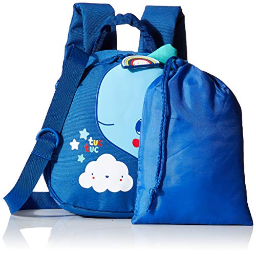 Tuc Tuc Enjoy & Dream - Mochila, niños, color azul