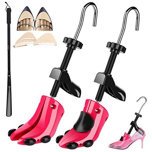 JJDPARTS High Heel Shoe Stretcher, Pair 4-Way Shoe Expander Widener Shoe Tree Extender for Women