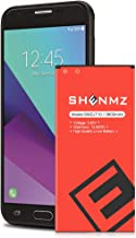 SHENMZ Galaxy J7 Prime Battery Upgraded,[3600mAh] Battery Replacement for Samsung Galaxy J7 (2017 Ver) SM-J727 J727 J727R4 J727T1 J7 Prime SM-J727T Phone [ Note:Not Compatible with J7 (2015 Ver) ]