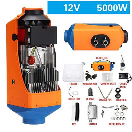 JLCN Air Diesel Heater 5KW 12V Auto Heizung Standheizung Schnelle Heizung Heizlüfter Mit Fernbedienung Auspuff Luftkanal Für LKW Motorboot Anhänger