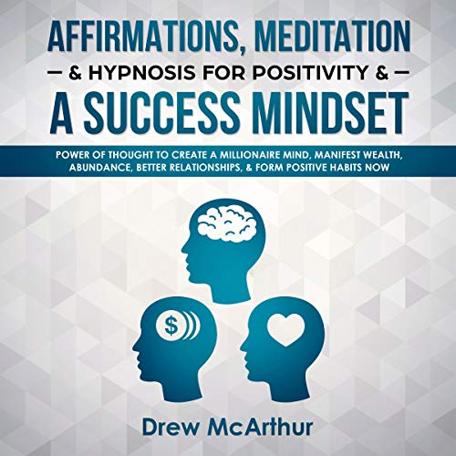 Affirmations, Meditation, & Hypnosis for Positivity & a Success Mindset Titelbild