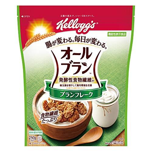 ケロッグ オールブラン ブランフレーク 250g ×6袋 機能性表示食品
