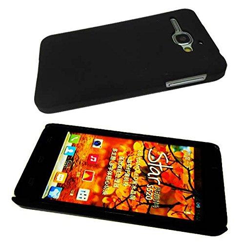 Funda Samsung I9001 Galaxy S Plus Backcover, Protección contra choques para el Smartphone (Funda Carcasa en Negro)