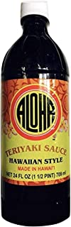 Aloha Teriyaki Sauce Hawaiian Style 24 oz. bottle