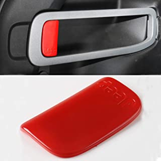 Nkcar ABS Chrome Car Door//Tail Door Handle Shell Decoration Cover 6pcs for Jeep Wrangler JL 2 Doors 2018