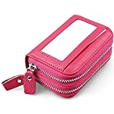 Huztencor - Cartera para mujer , rosa (rosa) - Huz-RFID-123-Pink