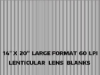 3d lenticular sheet