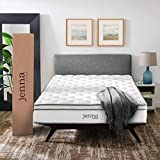 "Modway AMZ-5771-WHI Jenna 10"" King Innerspring Mattress - Top Quality Quilted Pillow Top - Individually Encased Pocket Coils - 10-Year Warranty"