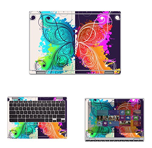 %14 OFF! Decalrus - Protective Decal Skin Skins Sticker for Acer Convertible ChromeBook 11 R11- CB5-...