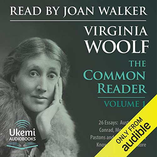 The Common Reader Volume 1 audiobook cover art
