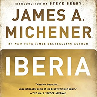 Iberia audiobook cover art