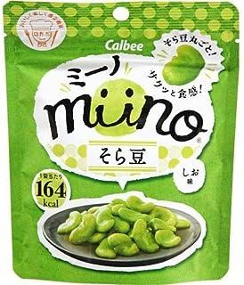カルビー miinoそら豆しお味 28g