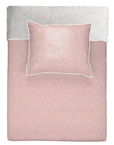 Walra Dazzling Dots flanel omkeerbaar beddengoed roze