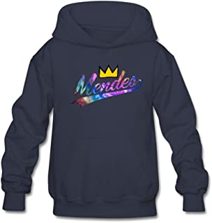 Keith Taylorr Youth Unisex Jean King Mendes 98 Printing Cozy Hoody Sweatshirt for 11-15 Years Old Teenager