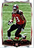 2014 Topps NFL Football Card #387 Mike Evans Tampa Bay Buccaneers ROOKIE CARD. rookie card picture