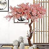 GAOXQ Gran Planta de árbol floreciente Artificial 150 cm simulación de Cerezo decoración de Boda de la Boda del árbol de la Flor de Cerezo para la decoración Interior